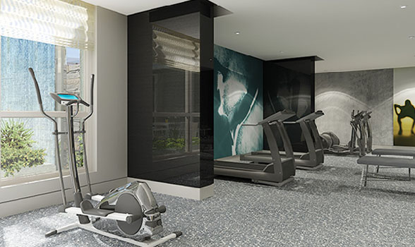 9t6 Gym 9t6 Condo At 96 St Patrick Street